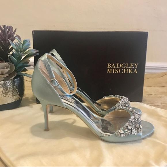 c0c07f2f5fa Badgley Mischka Shoes - Badgley Mischka Bankston Ankle Strap Heels